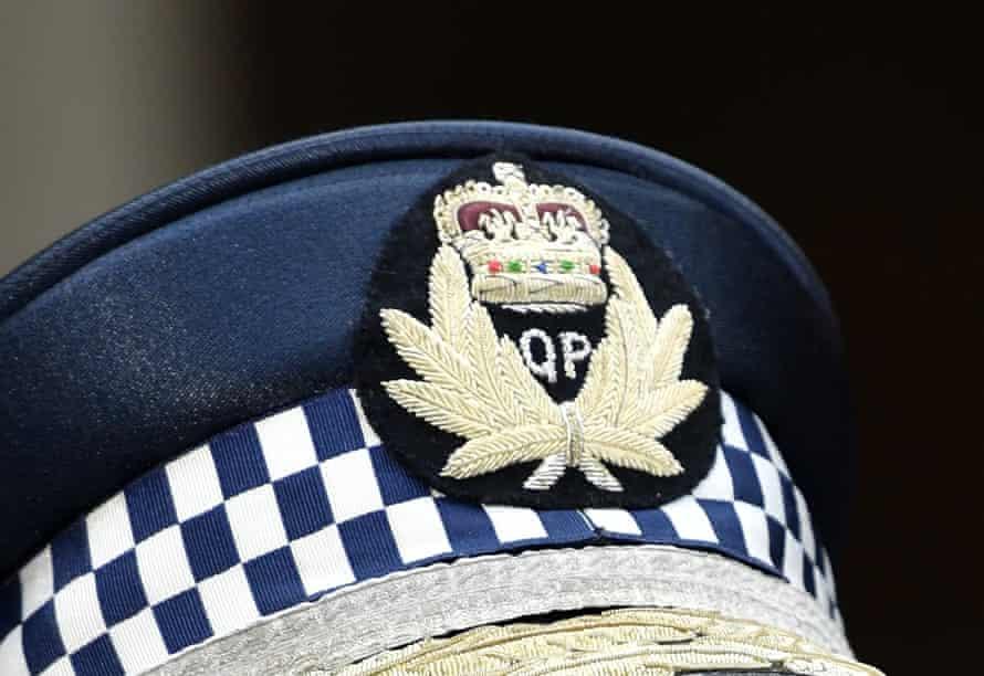 Queensland Police logo.
