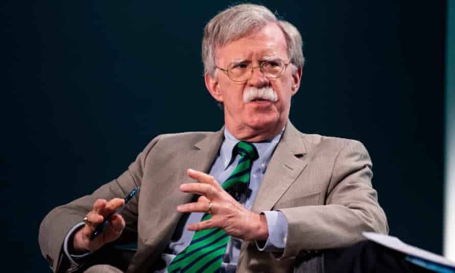 National Security Advisor John Bolton is a long-time Iran hawk.