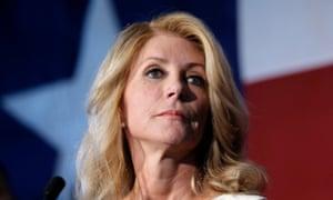 """A New York Times article asked 'Can Wendy Davis have it all?'. The question would not have been asked of a man, the former senator says. """"It's part of giving permission to the online harassers, saying that it's ok to critique women differently and to talk about women differently."""""""