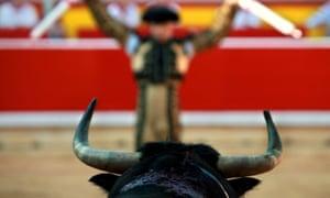 Bullfight in Pamplona