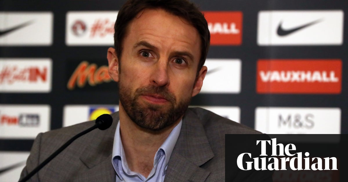 Gareth Southgate\'s personal video nasty missed by England no-shows ...