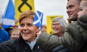 Nicola Sturgeon will focus on immigration today after losing his court case to be included in tonight's TV debate.