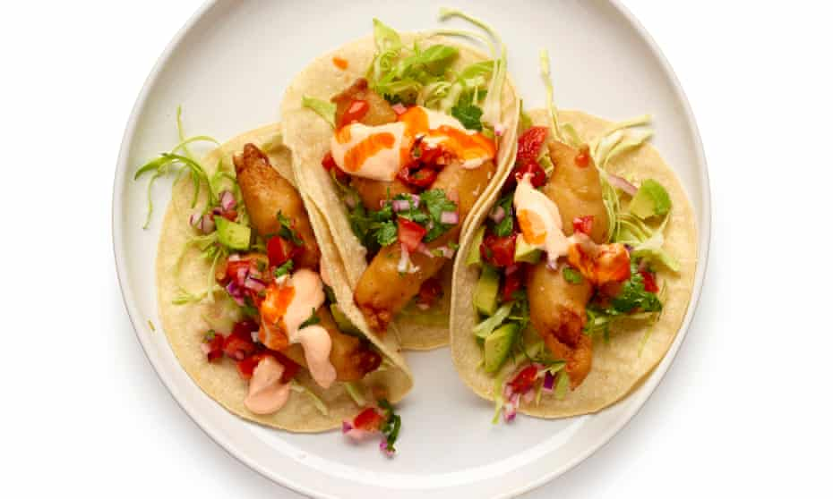 Felicity Cloake's perfect fish tacos.
