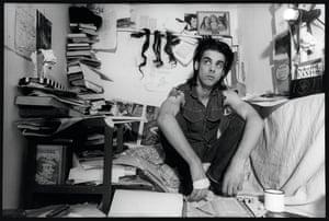 Nick Cave in West Berlin, 1985.