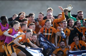 Joy for the Tigers as they secure their return to the Championship.