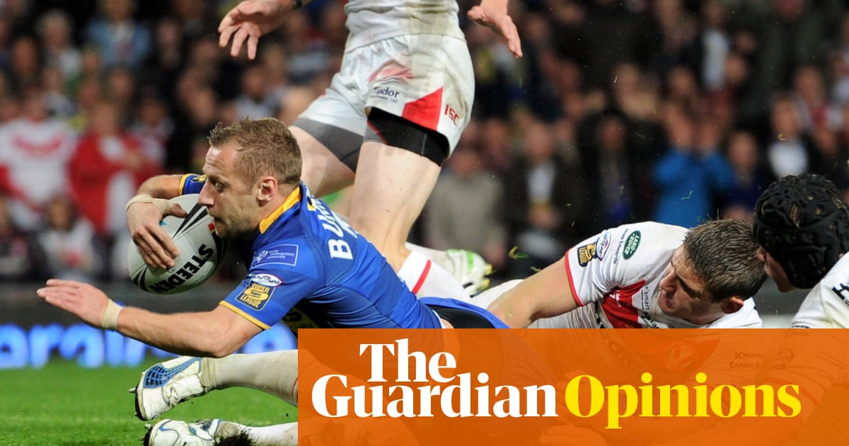 Cruel news about Rob Burrow's MND should provoke rugby into action | Jonathan Liew