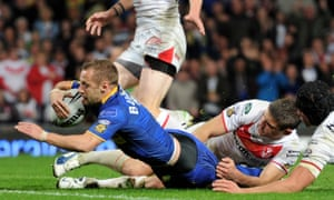 Rob Burrow, who scored a suberb individual try in the 2011 Grand Final for Leeds, believes playing rugby league was not responsible for his MND.