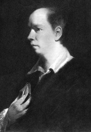 Sir Joshua Reynolds' portrait of Oliver Goldsmith.