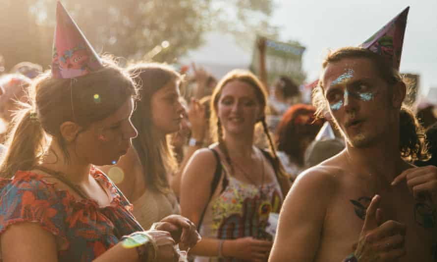 'People want their summer back' … Nozstock festival.