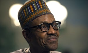 Nigerian president Muhammadu Buhari is being treated in London for an ear infection. (AP Photo/Cliff Owen)