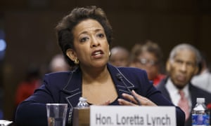 Loretta Lynch will be the first African American woman to serve as US attorney general.