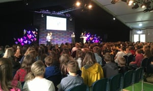 The audience found out how the Guardian produces its Today in Focus podcast with Anushka Asthana and planned one on Extinction Rebellion in groups