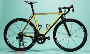 One of Filament's custom-made carbon fibre bicycles.