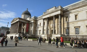 The National Gallery in London
