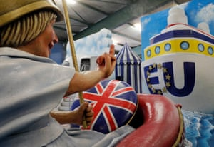 Mainz, Germany A carnival float named Rule Britannia