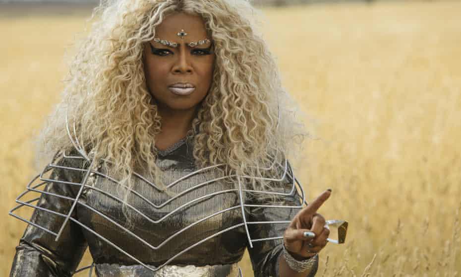 Oprah Winfrey in A Wrinkle In Time.
