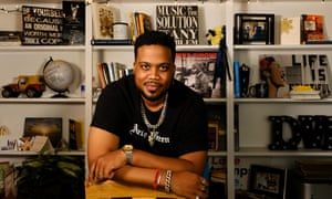 Archie Green, a rapper and producer and mental health advocate, from Cleveland, Ohio.