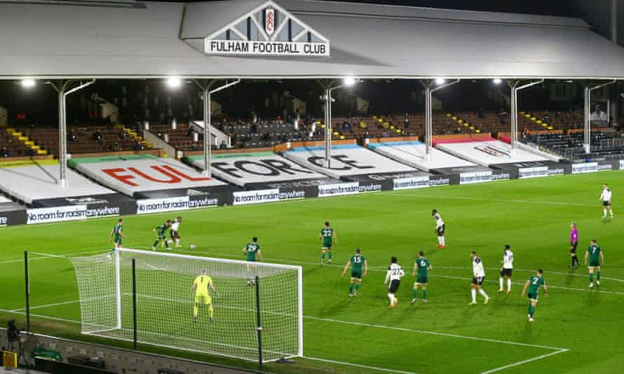Fulham are due to play Newcastle on the final day of the Premier League season, when crowds are hoped to be back.