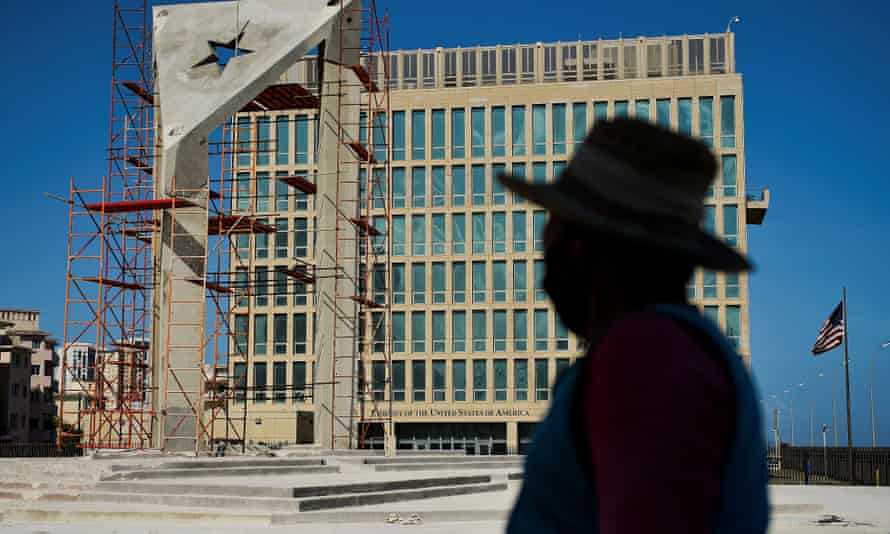 The US embassy in Cuba, where cases of Havana syndrome were first reported