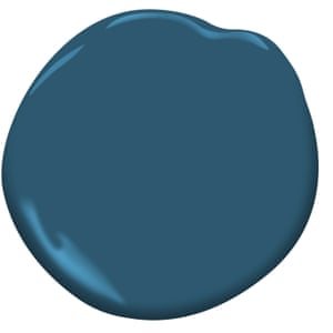 Blue Danube by Benjamin Moore Paint, from £25