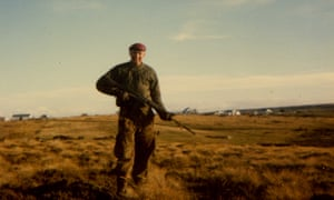 Dave Parr in the Falklands with 2 Para.