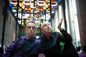 Tony Martin and Damian Cowell