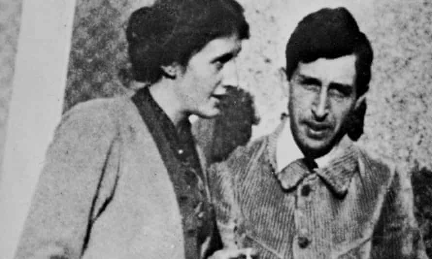 Virginia and Leonard Woolf.
