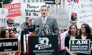 Ted Cruz anti-abortion