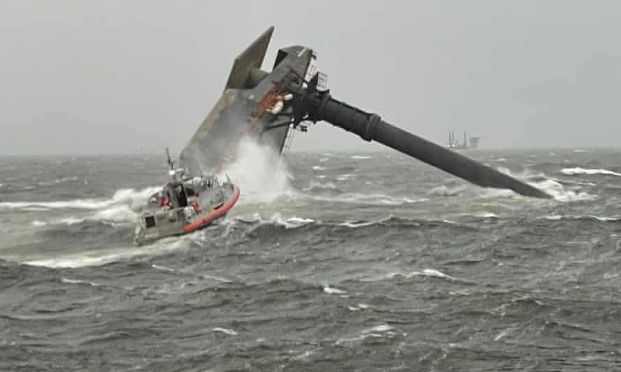 Louisiana lift vessel capsize