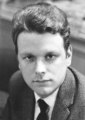 Dan van der Vat as a young journalist