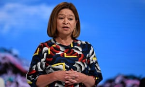 Former ABC managing director Michelle Guthrie
