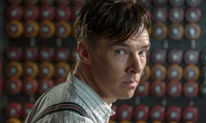 Rewriting history … Benedict Cumberbatch, centre, in the 2014 biopic of Alan Turing, The Imitation Game.
