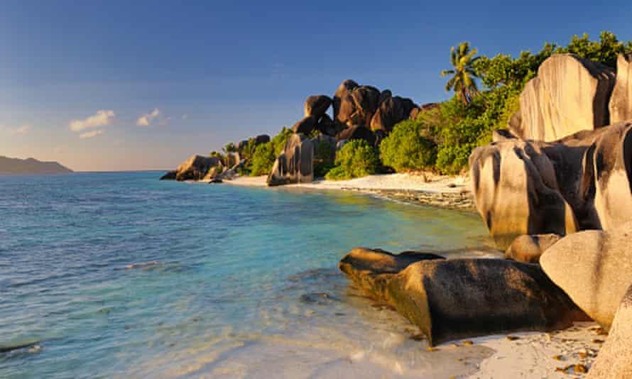 Anse Source d'Argent on La Digue Island, Seychelles