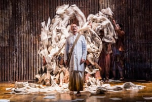 Toby Spence as Gandhi in Satyagraha at the Coliseum.