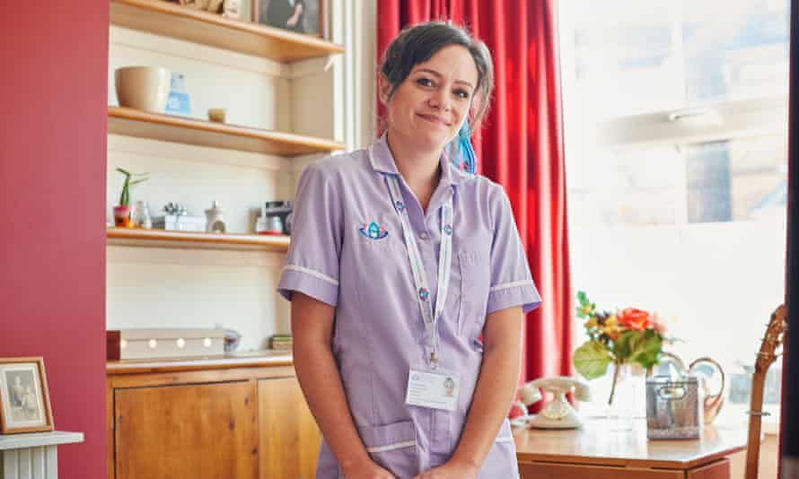 Camilla, a former driving instructor who has become a carer