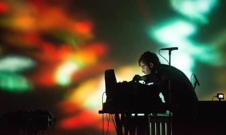 Jaar performing at the Barbican in London in 2013