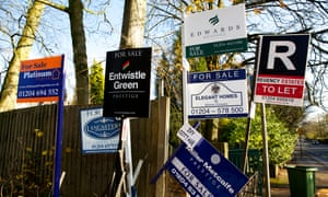 Estate agents' For sale and To let signs