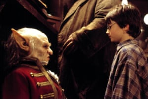 As Griphook in Harry Potter and the Philosopher's Stone