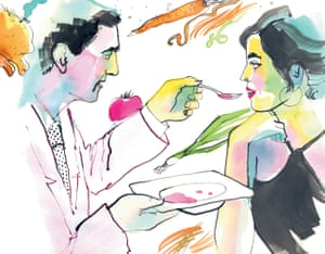 'In a relationship a mutual diet evolves and inside is a code about who we are to each other'