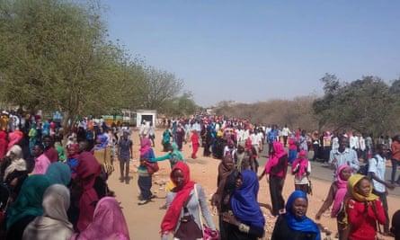Protests at Nayala university