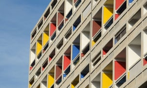 Unité d'Habitation by Le Corbusier in Marseille.
