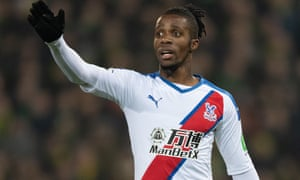 Wilfried Zaha's new agent Pini Zahavi is attempting to secure the forward's departure from Selhurst Park