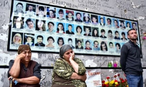 People commemorate the victims of Beslan