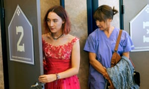 Ronan and Metcalf, who have both been nominated for Oscars, in Lady Bird.