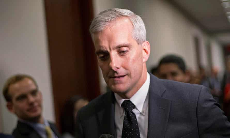 White House chief of staff, Denis McDonough