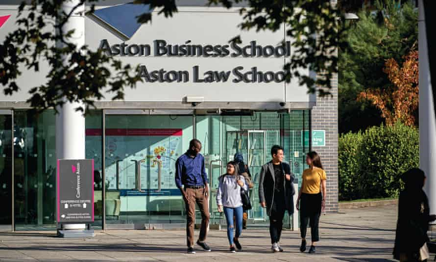 Aston University is the winner of the Guardian's annual university of the year award.