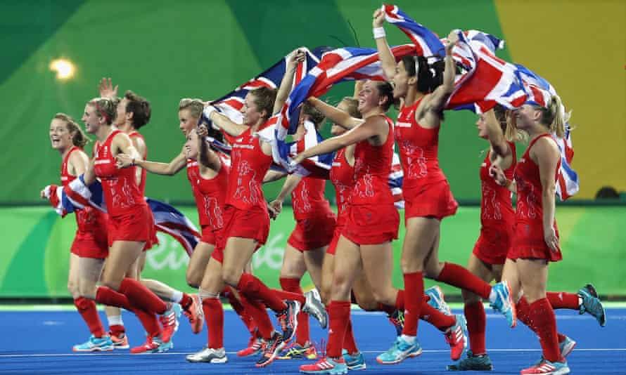 Britain's hockey team