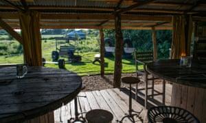 knepp safari camp kitchen