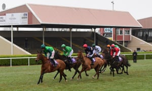 Racing continued behind closed doors at Wexford yesterday but for how much longer?