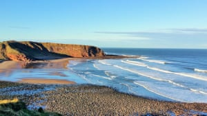 A Hidden Gem in the Scottish Borders. It is an off-the-beaten-track seaside resort about 10 miles away from Dunbar.